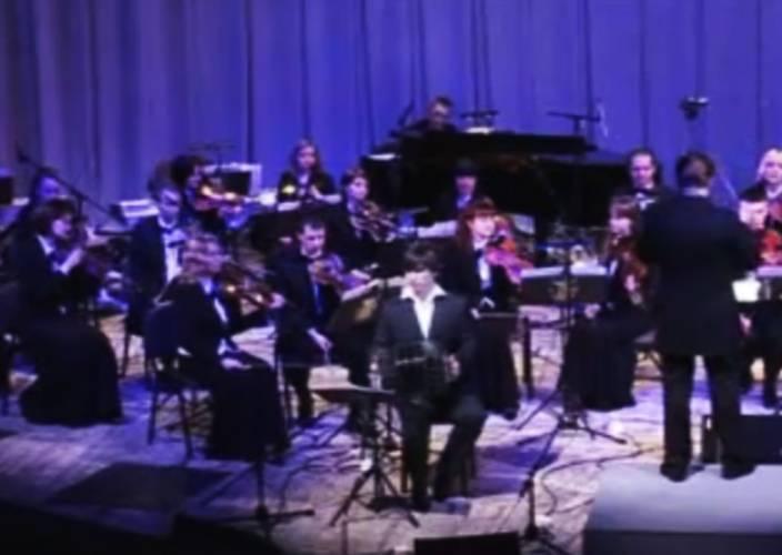 Astor Piazzolla - Concierto Aconcagua para bandoneon, orquesta de cuerdas y percusion, Allegro Marcato